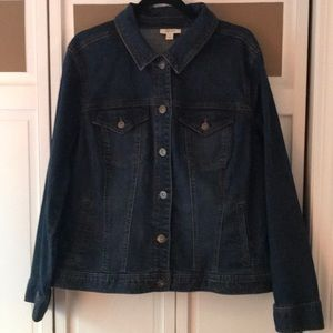 Style & Co Jean jacket. Size 18W. Worn once.